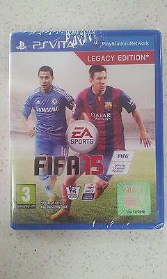 FIFA 15 Sony PS Vita Game Brand New & Sealed