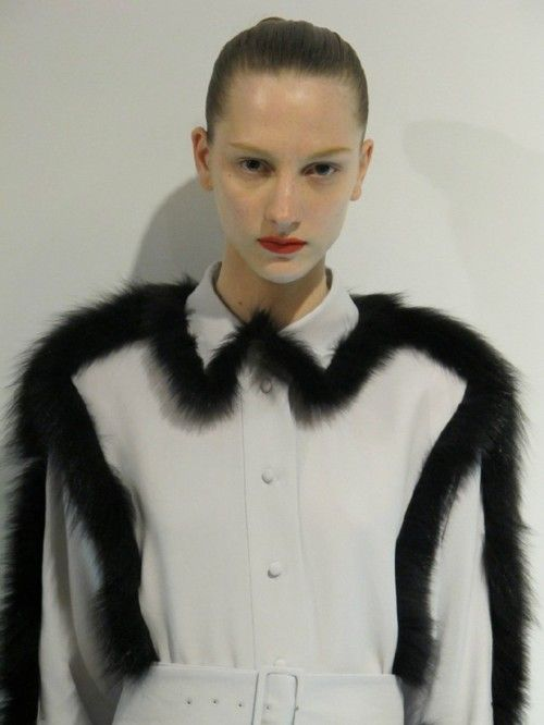 What to do with the vintage fur bits that would otherwise be wasted/have died in vain. Or go faux. Thanks for inspo // viktor & rolf
