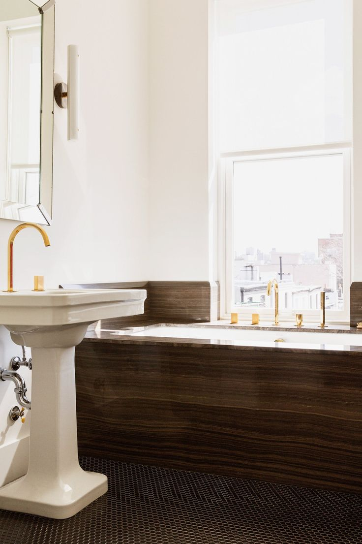 Modern gold and brass fixtures for the bathroom apartment therapy - Source List Modern Gold And Brass Fixtures For The Bathroom