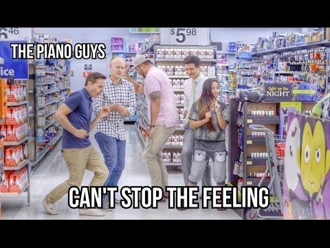 Can't Stop The Feeling - Dance Like Nobody's Watching - The Piano Guys. HAaa!!! Totally doing this some time