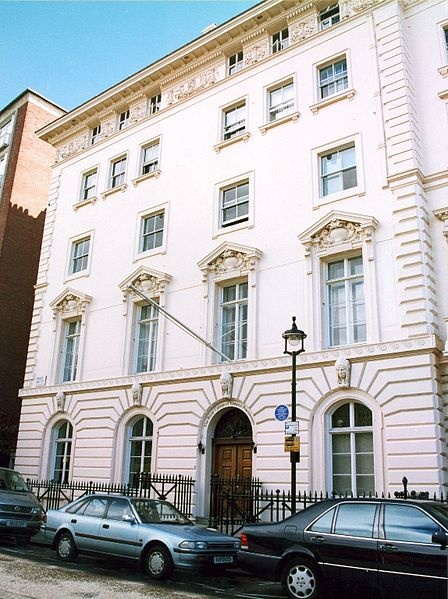 JFK - 1938-1940  American Embassy  14 Princess Garden Gate  London, England  (While father was American Ambassador to England)
