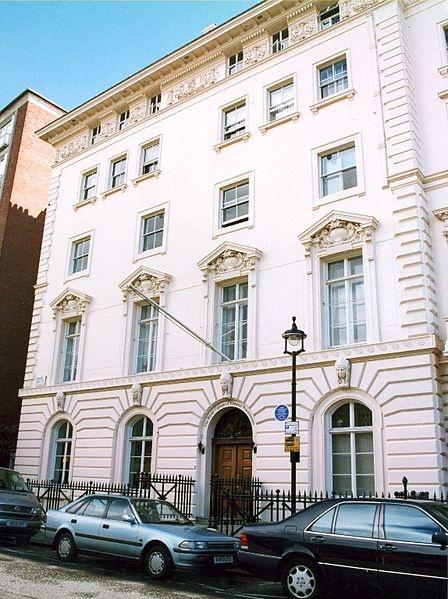 JFK - 1938-1940  American Embassy  14 Princess Garden Gate  London, England  (While father was American Ambassador to England)