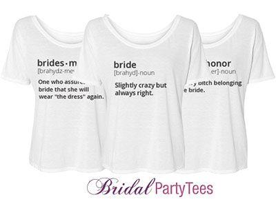 Bridesmaid Definition Custom Bella Flowy Lightweight