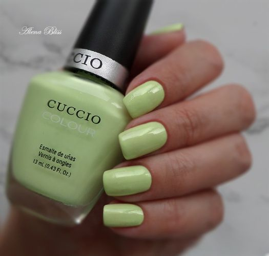 Cuccio Colour Spring Collection 2014 # 6103 In The Key Of Lime