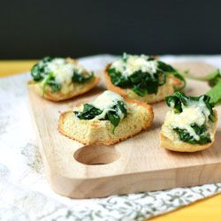 I can't find this recipe for Spinach Cheese Bread in this link, but there are some other great looking recipes here.