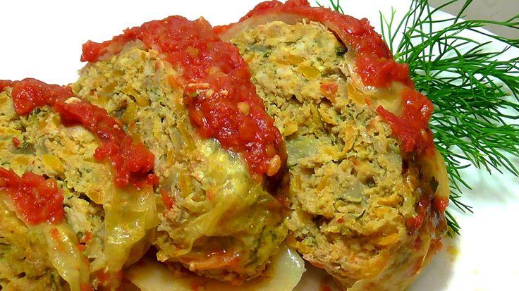 ОЧЕНЬ ВКУСНЫЕ ЛЕНИВЫЕ А - ЛЯ ГОЛУБЦЫ.ROLL with cabbage and minced meat