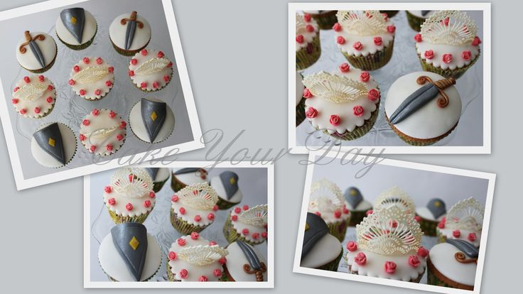 Cupcakes Prinsessen & Ridders