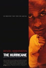 """The Hurricane; true story of Rubin """"Hurricane"""" Carter, a boxer wrongly imprisoned for murder, and the group of Canadians who aided in his fight to prove his innocence."""