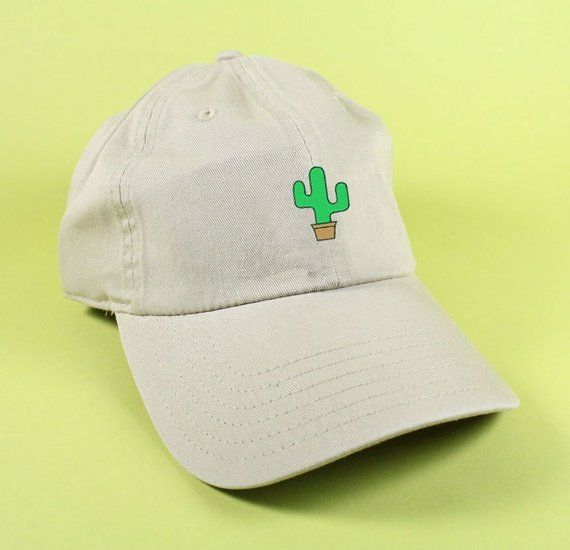 NEW Cactus Baseball Hat Dad Hat White Pink Black Embroidered Unisex  Adjustable Strap Back Baseball Cap dad cap Desert Palm Tree Vacation d2f29e4bd35a