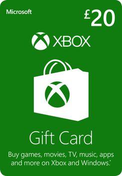 Xbox Live £20 Credit Xbox Live