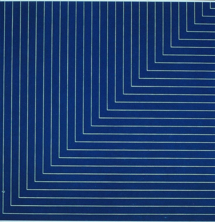 Hampton Roads by Frank Stella (1961)