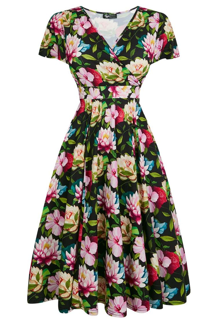 Our most popular Lady Voluptuous Dress is back at Lady V in collection of beautiful Summer...