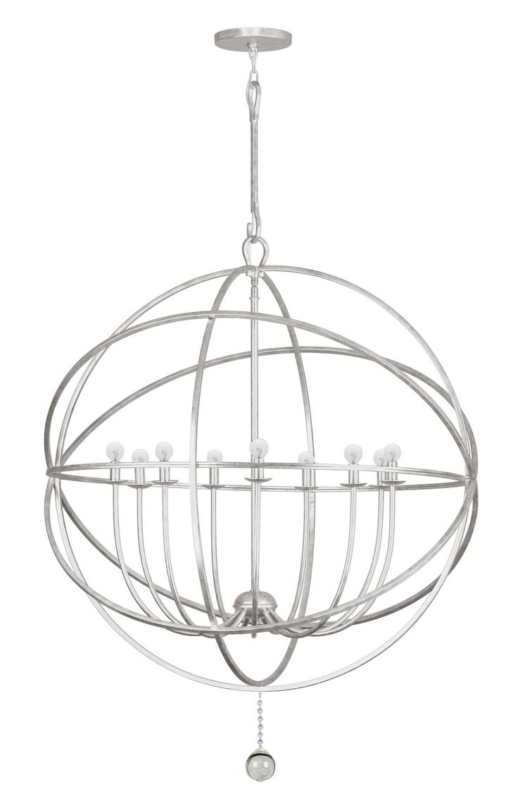 Crystorama 9229 Solaris 9 Light Up Lighting Chandelier