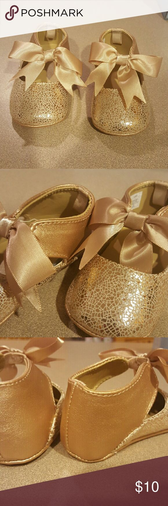 Baby Crib Dress Shoes Size 3 crib shoes. Champagne color. EUC. Smoke free home. Shoes Baby & Walker