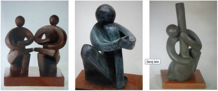Saroj Jain – Artist Sculptor - India Sculptures - India Art Gallery -Sculpture Exhibition India – http://indiaartgallery.in/artists/saroj-jain/