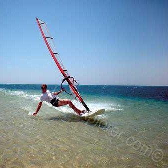 Windsurfing on Kos! #kos #greece #watersports #windwsurfing www.kosexplorer.com