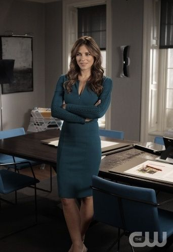 """""""The Big Sleep No More"""" GOSSIP GIRL Pictured Elizabeth Hurley as Diana Payne PHOTO CREDIT: GIOVANNI RUFINO/©2011 The CW Network, LLC. All Rights Reserved"""