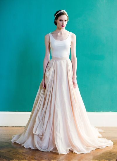 Kensington ballgown by Carol Hannah  I like this one a lot,too.: Casual Wedding, Wedding Dressses, Pink Wedding Dresses, Ball Gowns, Skirts, Blushes, Carol Hannah Whitfield, Bride, Spring 2013