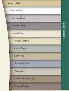 Siding Colors Sandy Tan Or Stone Mountain With White Trim