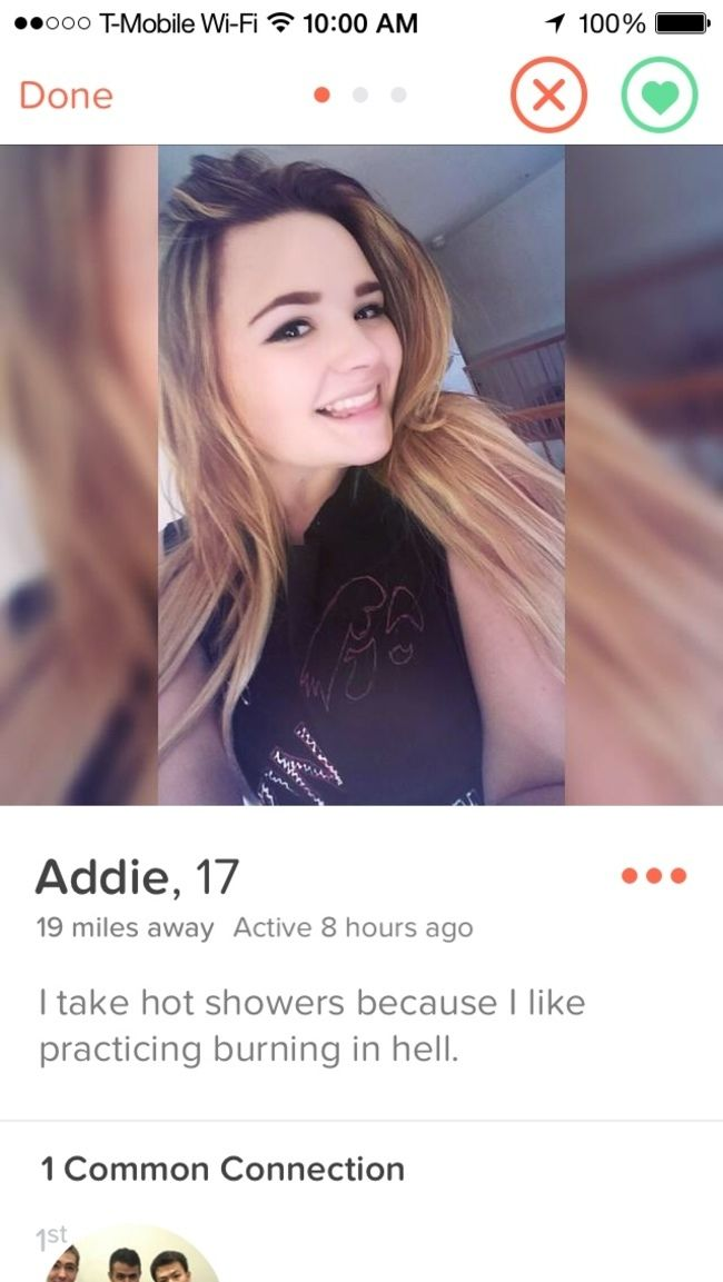 Some of the Most Hilarious Tinder Profiles - Ringer | Guff