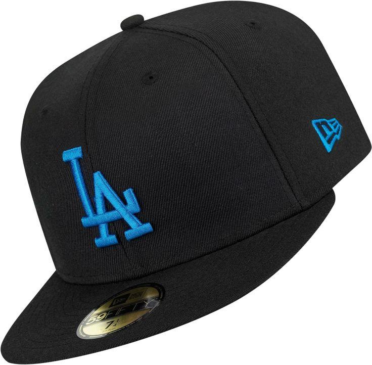 LA Dodgers Hat   zurück Home New Era Basic MLB LA Dodgers Cap schwarz blau