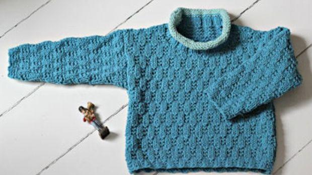 Knitting recipe - cool sweater