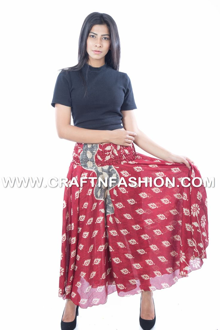 Indo Western Party Wear Palazzo Pants