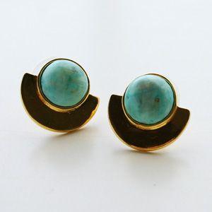 【雑誌掲載!】★正規販売店★【Lizzie Fortunato Jewels/リジーフォルトゥナート ジュエルズ】Minimalist Earring-Opal【楽天市場】