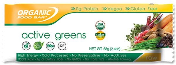 Organic Food Bar™Active Greens 2.4 oz