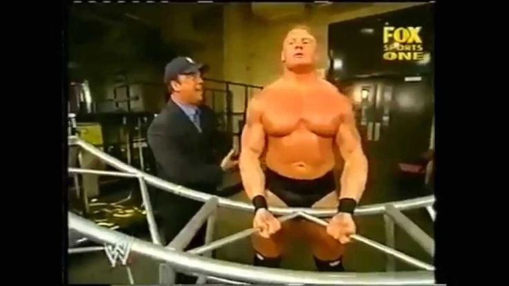 #Brock lesnar WWE Beast Insane #Workout Backstage Destroying #Shoulder Watch this video till end