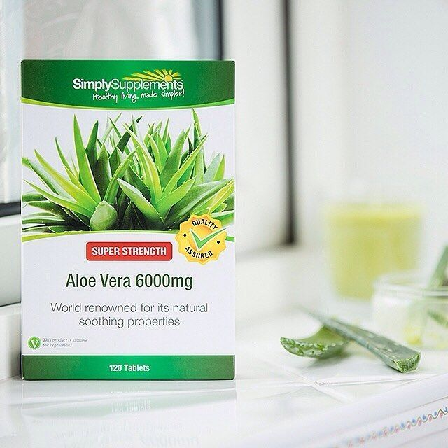 Support your immune and digestive system with the soothing effects of Aloe Vera. Whether you're suffering from an upset stomach or constipation, Aloe Vera could be the solution to help!⠀ ⠀  #fitspo #supplements #healthychoices #like4like #fitness #nutrition #instahealth #diet #exercise #healthyeating #healthyme #healthylife #fitfam # l4l #vitamins #aloevera