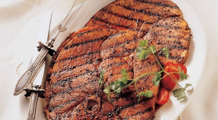 Check out this delicious recipe for Southwest Ham Steaks  from Weber—the world's number one authority in grilling.