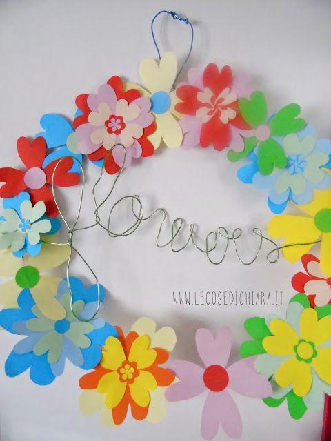 LE COSE DI CHIARA HANDMADE: gli origami del sabato: un fiore in un cuore