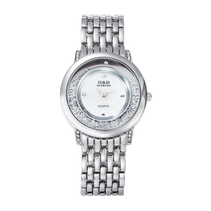 $19.71 (Buy here: https://alitems.com/g/1e8d114494ebda23ff8b16525dc3e8/?i=5&ulp=https%3A%2F%2Fwww.aliexpress.com%2Fitem%2F2016-GLE8VDO-New-Relogio-Feminin-Women-s-Bracelet-Bangle-Crystal-Watch-Quartz-Horloges-Vrouwen-Watches-Wristwatch%2F32706423558.html ) 2016 GLE&VDO New Relogio Feminin Women's Bracelet Bangle Crystal Watch Quartz Horloges Vrouwen Watches Wristwatch Gift Free Ship for just $19.71