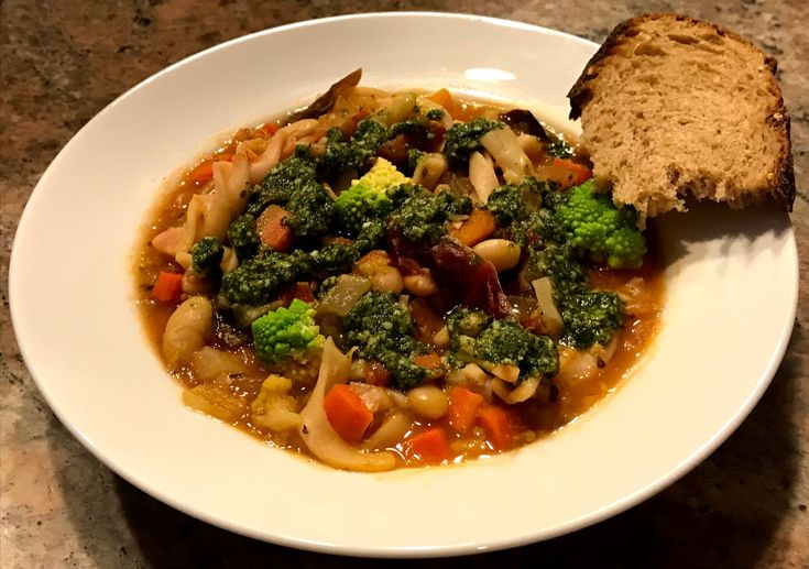 Pistou soup will brighten your dark winter evenings with this plant-based soup...