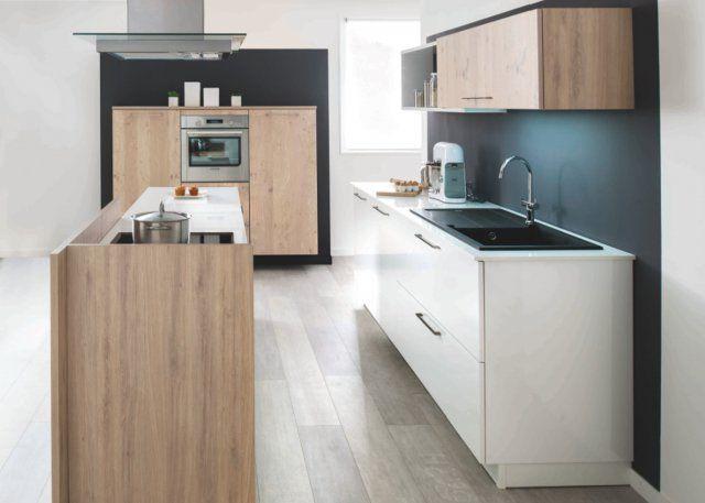 Cuisine parallèle Artwood & Arcos - Schmidt - Marie Claire Maison