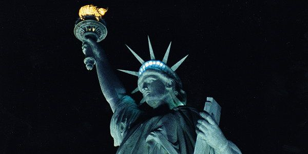 """This lesson focuses on the role the Statue of Liberty has played in US history and in the hearts and minds of Americans and the world. The lesson begins by helping students to define liberty and then to understand how a concept can be embodied or personified in a statue. Students study """"The New Colossus"""" by Emma Lazarus in which the Statue of Liberty """"speaks"""" to us."""