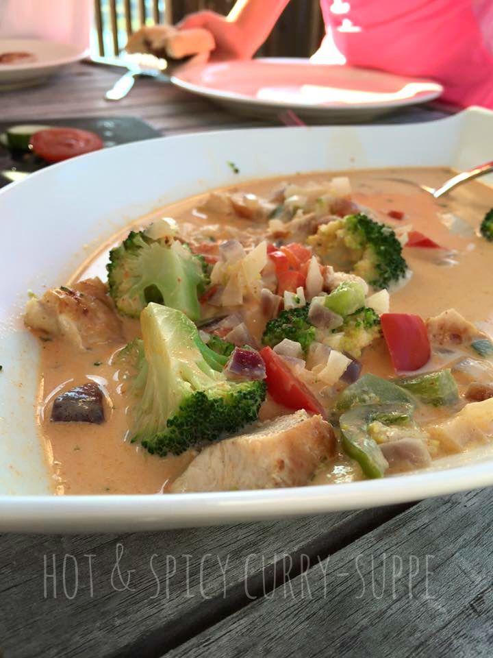 Hot & Spicy kyllingsuppe | På kjøkkenbenken | God mat skal lagast med kjærleik og rause målPå kjøkkenbenken | God mat skal lagast med kjærleik og rause mål