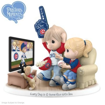 Sport love for the Cubs and your sweetie in this limited-edition figurine. Shop Now!