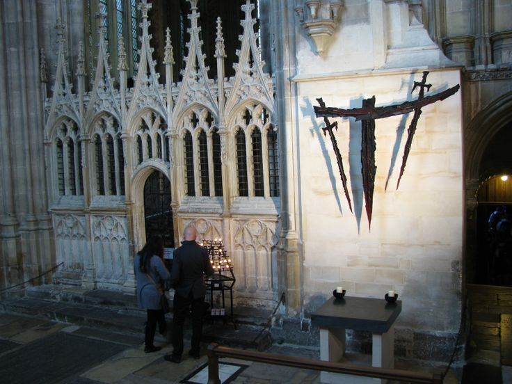 The Martyrdom, where Becket was murdered