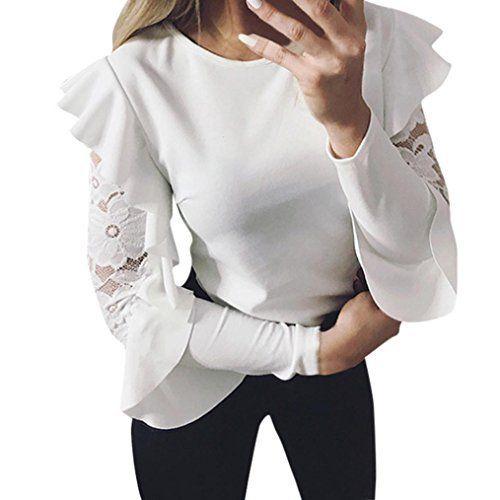 DAY8 femme vetements chic ete mode chemise femme soiree blouse femme grande taille Printemps femme t shirt fashion vetement femme pas cher…