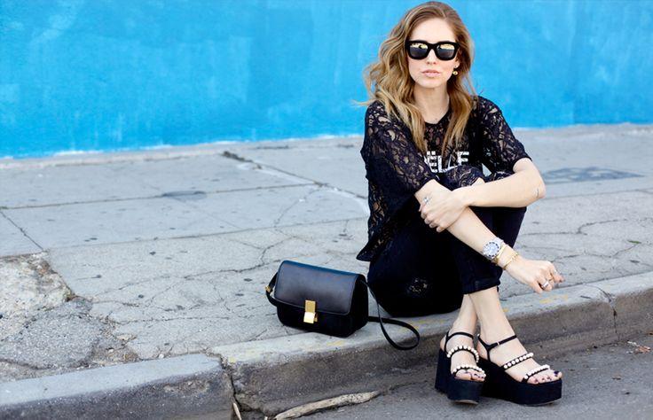 Para desearle un muy feliz cumpleaños número 28 a nuestra blogger favorita, Chiara Ferragni, hicimos un lookbook de uno sus accesorios predilectos: las plataformas. ¿Te gustan?