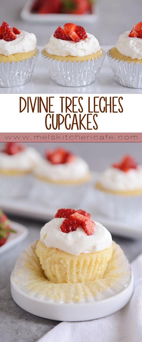 Divine Tres Leches Cupcakes