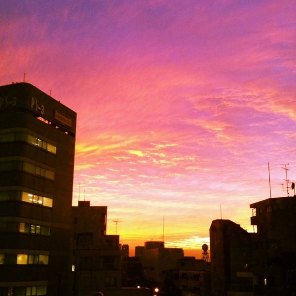 Sunset in the City.