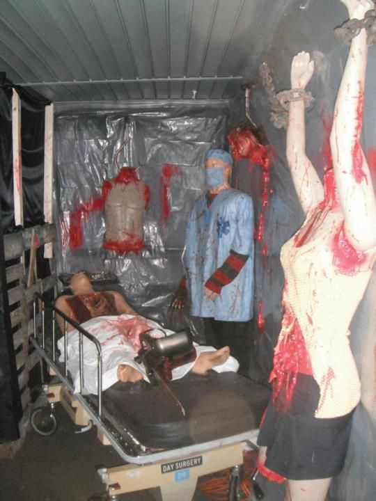 26 Best Haunted House Butcher Shop Images On Pinterest Halloween