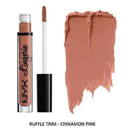 Ruffle Trim Lip Lingerie Sexy Matte Waterproof Lipstick Liquid Pencil Lip Gloss ** Check out this great product.