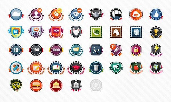 Classlink Achievement Badges On Behance Badges Badge