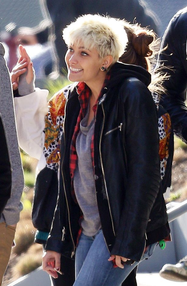 Paris Jackson was joined by her boyfriend Michael Snoddy on the trip