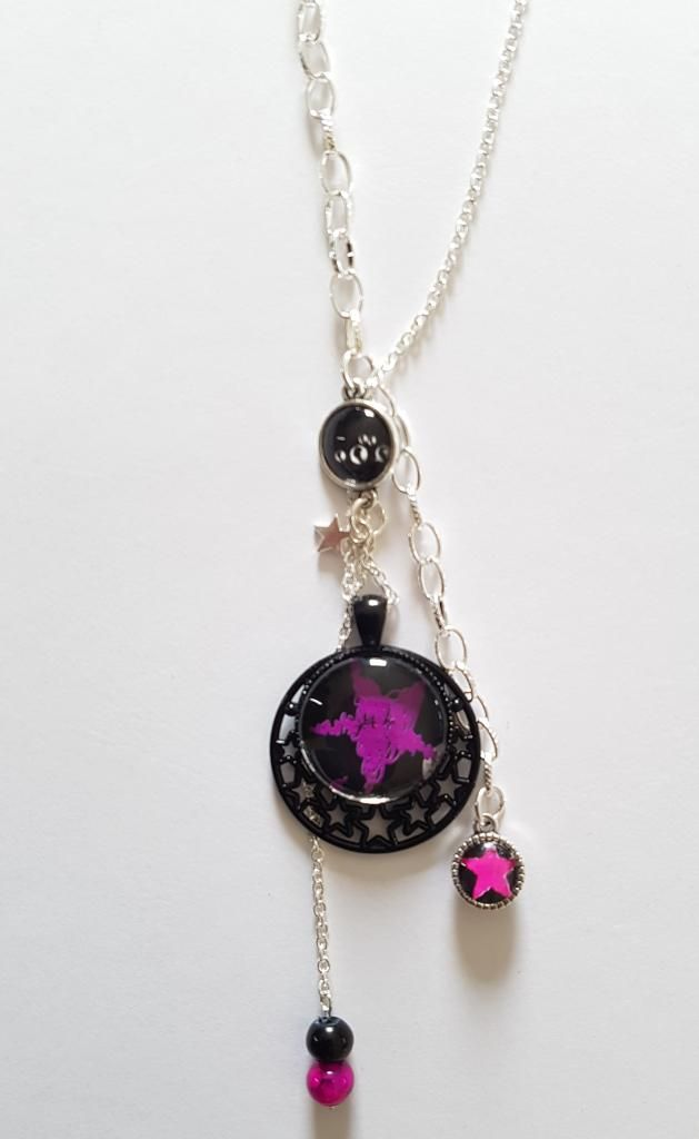 Rock Star violet et fushia