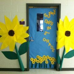 welcome back to school bulletin boards sunflowers - Google Search
